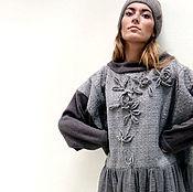 "Одежда handmade. Livemaster - original item Платье бохо ""Осень, розы, туман"". Handmade."
