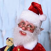 Куклы и пупсы ручной работы. Ярмарка Мастеров - ручная работа Эльф-Санта Клаус. Handmade.