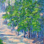 Картины и панно handmade. Livemaster - original item Oil painting intuitive vivid landscape