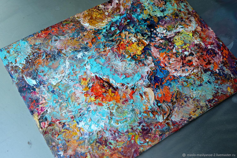 """Картина маслом """"Абстрактные цветы"""", Картины, Москва,  Фото №1"""