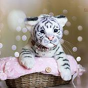 Куклы и игрушки ручной работы. Ярмарка Мастеров - ручная работа тигренок Джану. Handmade.