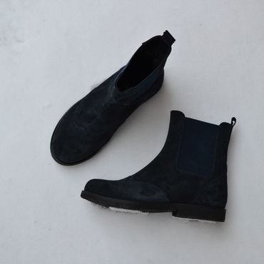 Обувь ручной работы. Ярмарка Мастеров - ручная работа Челси женские замшевые высокие с мехом. Handmade.