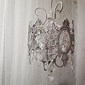 Для дома и интерьера handmade. Livemaster - original item Small vintage chandelier