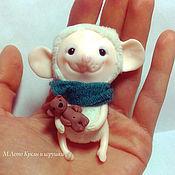 Куклы и игрушки ручной работы. Ярмарка Мастеров - ручная работа Мышь.. Handmade.