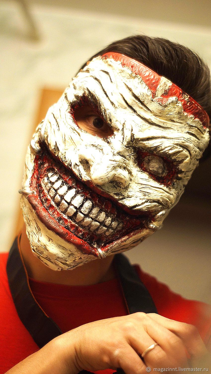 Joker death family 52 mask, Mask for role playing, Moscow,  Фото №1