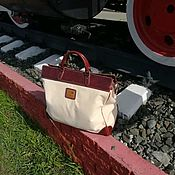 Сумки и аксессуары handmade. Livemaster - original item Travel bag. Handmade.
