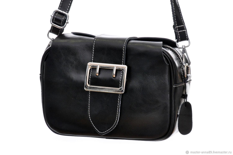6d99dad81afd Женские сумки ручной работы. Ярмарка Мастеров - ручная работа. Купить  Женская черная сумка М430 ...