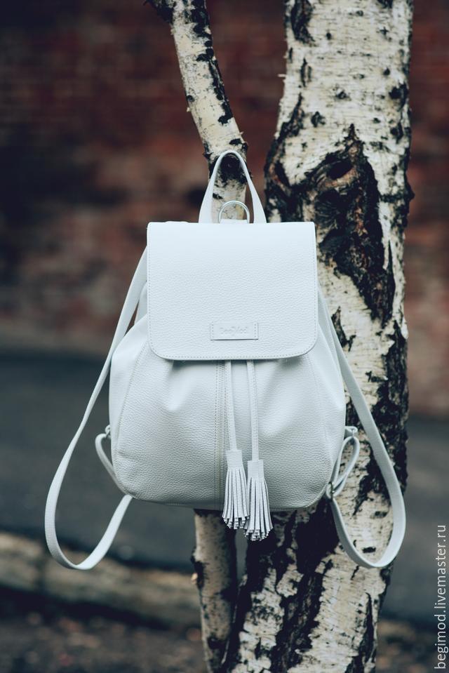 Белый рюкзак женски рюкзаки туристическе в алматы
