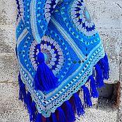 Одежда handmade. Livemaster - original item Poncho knitted for girls. Handmade.