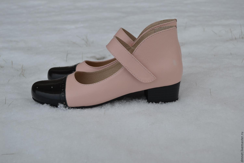 2b10c8709 Обувь ручной работы. Ярмарка Мастеров - ручная работа. Купить Туфли женские  с ремешком на ...