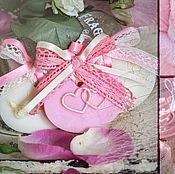 Сувениры и подарки ручной работы. Ярмарка Мастеров - ручная работа Саше-бонбоньерка на свадьбу. Handmade.
