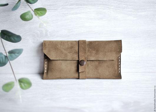 Для телефонов ручной работы. Ярмарка Мастеров - ручная работа. Купить Чехол для iPhone 6,7 из натуральной кожи ручной работы. Handmade.