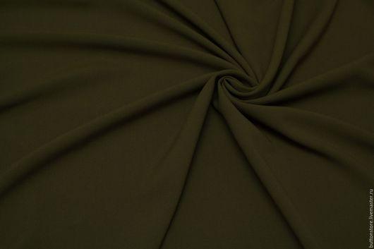 Шитье ручной работы. Ярмарка Мастеров - ручная работа. Купить Итальянская Вискоза Хаки плотная. Handmade. Хаки, вискоза