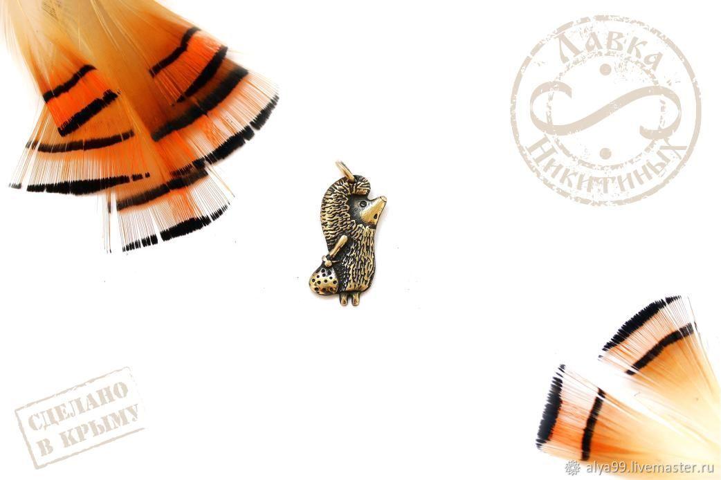 Кулон Ёжик в тумане подвеска Ежик купить украшение с ежом мультгерои, Подвеска, Симферополь,  Фото №1