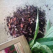 Косметика ручной работы. Ярмарка Мастеров - ручная работа иван -чай ферментированный,гранулированный с облепиховым листом  50гр. Handmade.