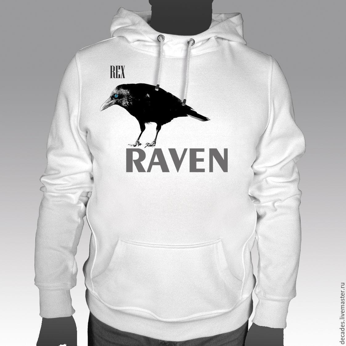 Hooded crow sweatshirt, Jumpers, Moscow,  Фото №1