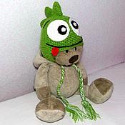 """Работы для детей, ручной работы. Ярмарка Мастеров - ручная работа Шапочка """"дракон"""" (детская шапка, шапочка детская, зимняя шапочка). Handmade."""