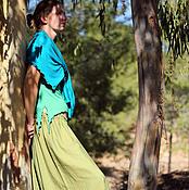 Одежда ручной работы. Ярмарка Мастеров - ручная работа Комплект афгани, кардиган и топ. Handmade.