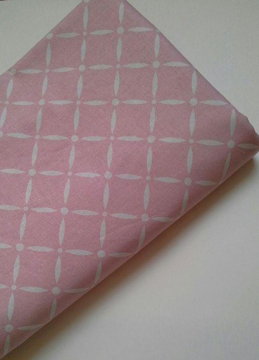 Шитье ручной работы. Ярмарка Мастеров - ручная работа. Купить Хлопок розовый для шитья. Handmade. Хлопок для творчества, хлопок для рукоделия