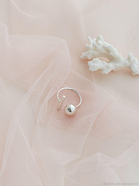Серебряное кольцо «Притяжение», Кольца, Москва,  Фото №1