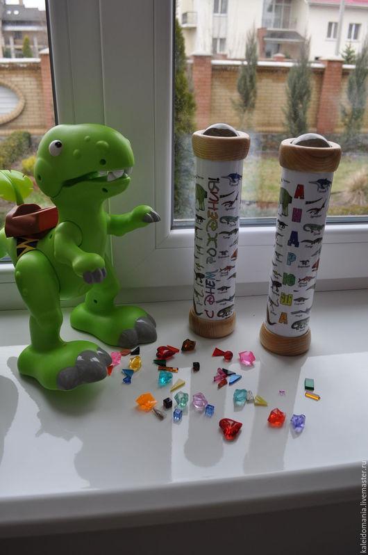Развивающие игрушки ручной работы. Ярмарка Мастеров - ручная работа. Купить Телейдоскоп  - 3D линзовый калейдоскоп. Handmade. Комбинированный, ребенку
