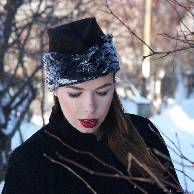 Cap with fur flaps, Hats1, Ekaterinburg,  Фото №1