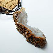 Фен-шуй и эзотерика handmade. Livemaster - original item Agate pendant Talisman Woman. Handmade.