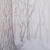 Картины и панно ручной работы. Ярмарка Мастеров - ручная работа Весна, парк. Handmade.