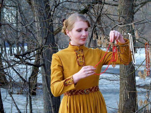 """Платья ручной работы. Ярмарка Мастеров - ручная работа. Купить Платье """"Воспоминание"""". Handmade. Однотонный, бохо стиль, Платье нарядное"""