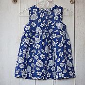 Одежда ручной работы. Ярмарка Мастеров - ручная работа Синяя туника. Handmade.