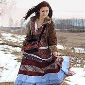 Платья ручной работы. Ярмарка Мастеров - ручная работа Платье Весна-Хозяйка. Handmade.