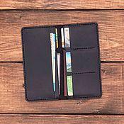 Сумки и аксессуары handmade. Livemaster - original item Genuine leather wallet London. Handmade.