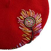 Аксессуары handmade. Livemaster - original item Takes embroidery FEATHER of the FIREBIRD. Handmade.