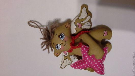 Ароматизированные куклы ручной работы. Ярмарка Мастеров - ручная работа. Купить кофейные игрушки. ангелы. Handmade. Кофейная игрушка, домики