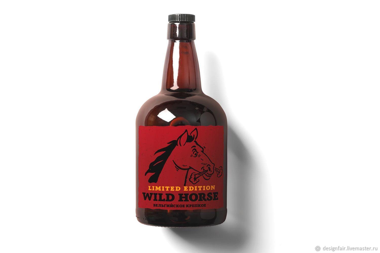 Custom Bottle Label, Design, Moscow,  Фото №1