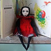 Куклы и игрушки handmade. Livemaster - original item Teddy $: Blood Bear Butterfly. Handmade.