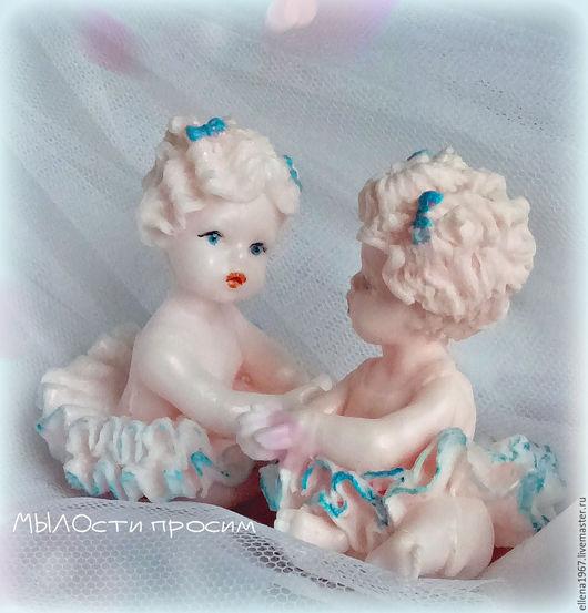 Мыло ручной работы. Ярмарка Мастеров - ручная работа. Купить Мыло Маленькая балерина. Handmade. Кремовый, мыло балерина, глицерин