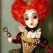 Куклы и игрушки ручной работы. Ярмарка Мастеров - ручная работа Красная королева. Handmade.
