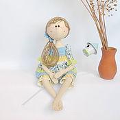 """Куклы и игрушки ручной работы. Ярмарка Мастеров - ручная работа Текстильная кукла """" Весна"""". Handmade."""