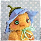 Куклы и игрушки ручной работы. Ярмарка Мастеров - ручная работа утка тедди. Handmade.