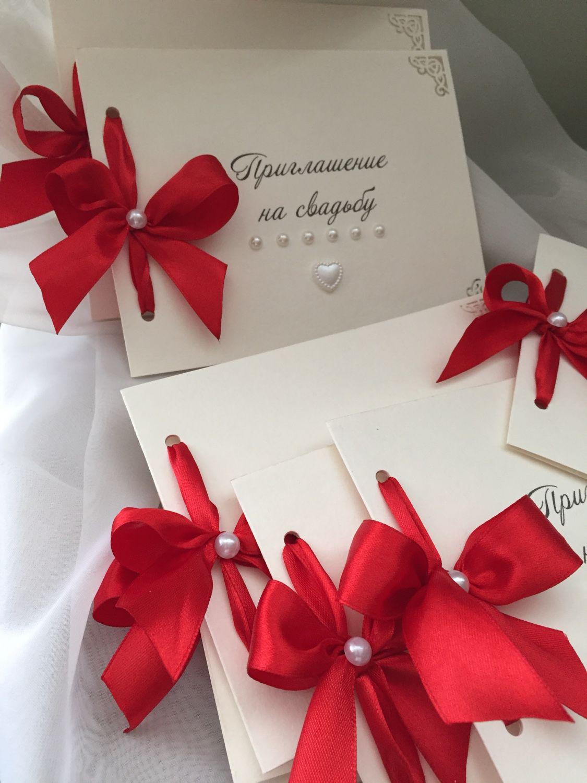 Свадебные пригласительные мастер-класс