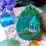 """Украшения ручной работы. Ярмарка Мастеров - ручная работа Кулон """"Сказки о волшебных садах 2"""". Handmade."""
