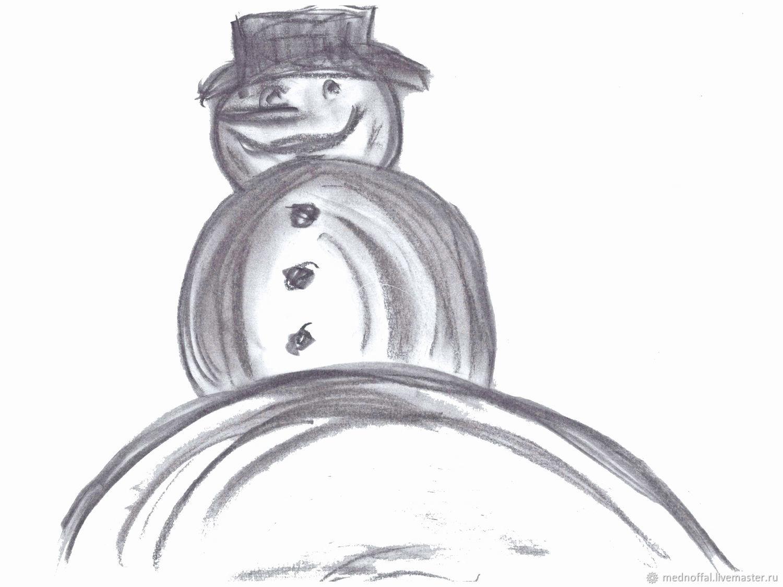 Снеговик, Шаблоны для печати, Нижний Новгород,  Фото №1