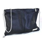 Сумки и аксессуары handmade. Livemaster - original item Clutch shoulder Bag with chain. Handmade.