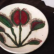 Посуда ручной работы. Ярмарка Мастеров - ручная работа Блюдо керамическое Подарок любимой тёще. Handmade.
