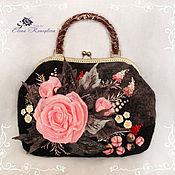 Сумки и аксессуары handmade. Livemaster - original item Bag Rosalie felted wool. Handmade.