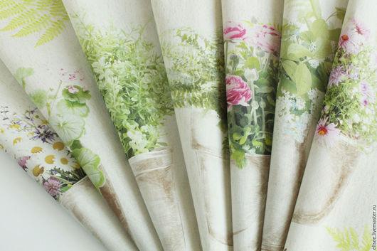 """Шитье ручной работы. Ярмарка Мастеров - ручная работа. Купить Купоны """"Цветы в горшках"""" №№1-2, 3-4, 5-6. Handmade."""