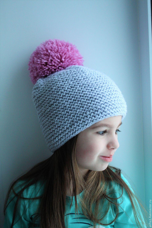 Вязание спицами. теплые шапки