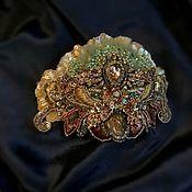 Украшения handmade. Livemaster - original item Hair bow Evening gold. Handmade.