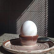 Для дома и интерьера ручной работы. Ярмарка Мастеров - ручная работа Подставка под яйцо.. Handmade.